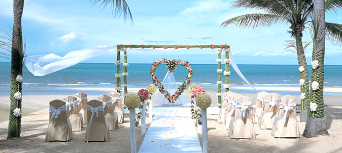 Anantara beach wedding, Hua Hin