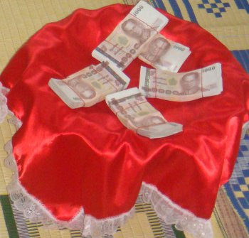 sinsod Thailand wedding dowry