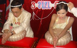 Thai wedding